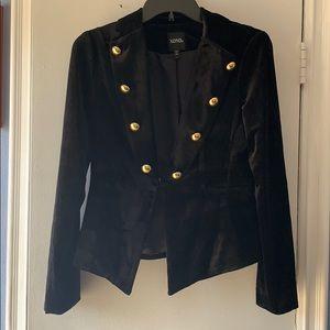 Xoxo velvet blazer